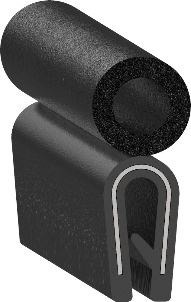 Uni-Grip part: SD-1205-AL-1/16in-3/8in Top Bulb